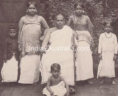 brahmin family in kerala 1901