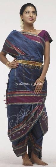 madisar style saree