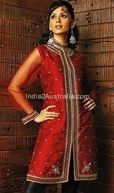 nehru jacket style churidar