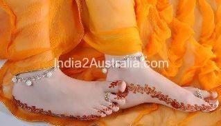 simple mehndi designs for feet2