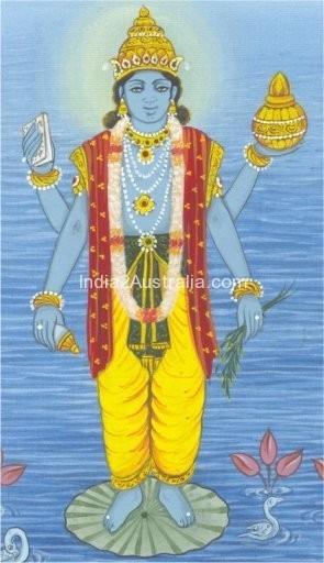 Dhanwanthari God of Ayurveda
