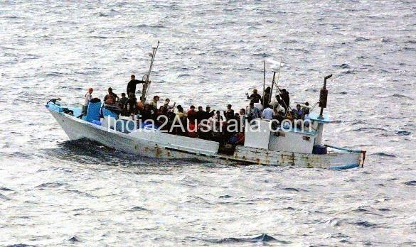 Indian refugee boat
