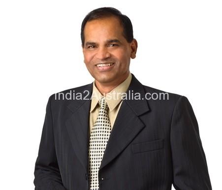 Gandhi Bevenakopa Liberal candidate for Clarinda
