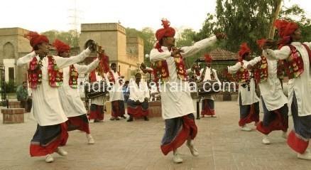 Bhangra Dance Performed on Vaisakhi