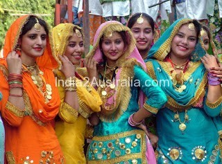 Traditional Costumes of Punjab