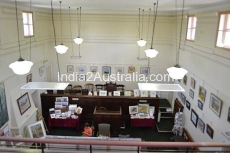 Inside Kilmore's Court House