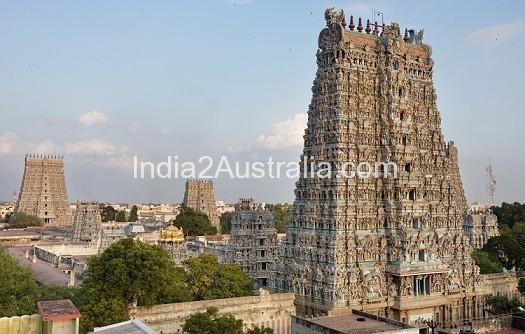 Madurai temple, India