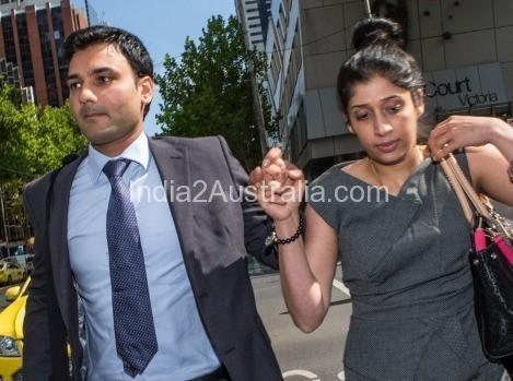 Deepak Dhankar with his wife