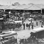 Queen Victoria market in 1907