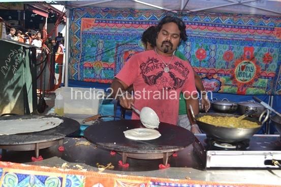 Sri Lankan Dosa at Victorian Market