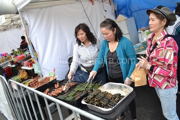 Vietnamese moon new year food