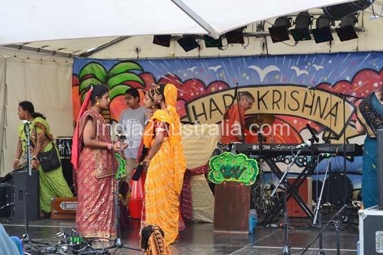 Hare Krishna at St Kilda Festival