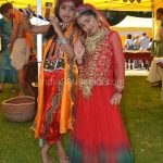 Indian Children (Radha and Krishna ) at St Kilda Festival