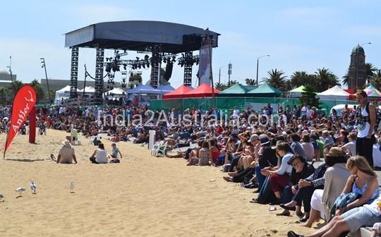 st kilda festival the big stage