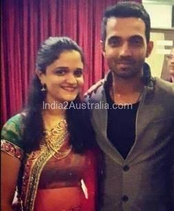 Ajinkya rahane with wife