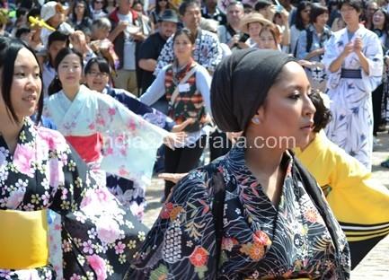 Japanese Summer Festival Melbourne Federation Square