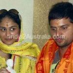 Suresh Raina with Poorna Patel