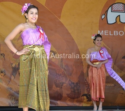 Thai Culture and Food Festival in Federation Square , Melbourne 2015