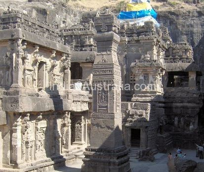 Kailasa Temple – The greatest Man made structure in India