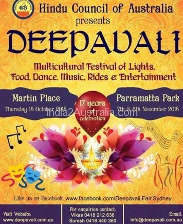 Diwali date in Perth