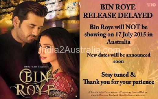 bin roye delayed