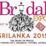 Srilanka Bridal Expo 2015 in Melbourne
