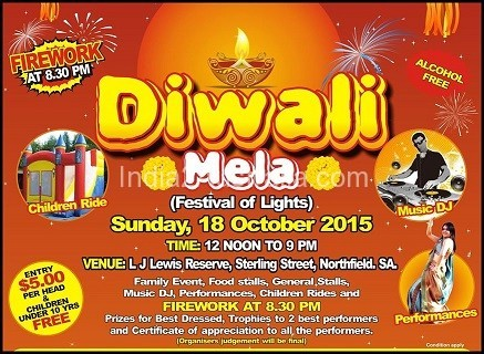 adelaide deepavali celebrations