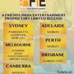 All is well hindi movie release details for Melbourne Sydney adelaide perth brisbane and canberra