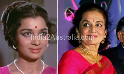 Asha Parekh Then and Now