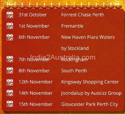 Indian Society of Western Australia Diwali Mela