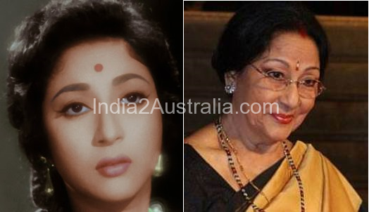 Mala Sinha Now and Then