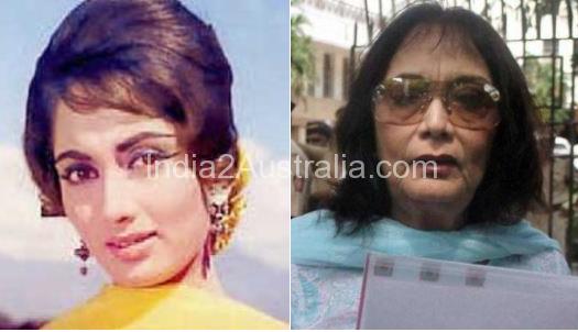 Bollywood actress Sadhana Now and Then photos