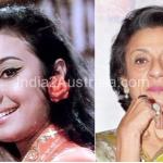 Bollywood actress Tanuja NOw and then photos
