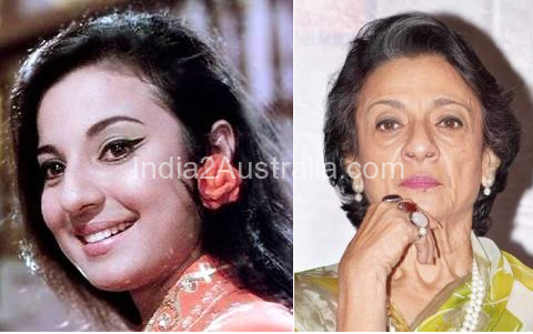 Tanuja Then and NOw