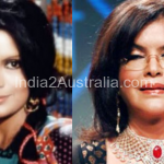 Zeenat Aman Then and now photos