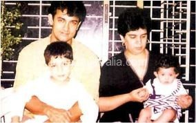 Amir Khan and Reena Dutta