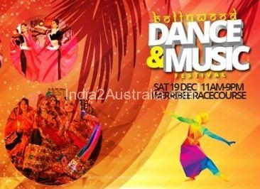 Bollywood dance and music festival