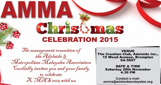Adelaide Malayalee Association Christmas Celebrations 2015