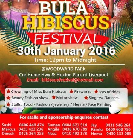 Bula Hibiscus festival