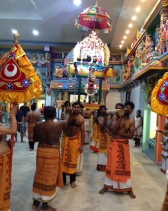 Chathurthi festival at selva vinayagar temple