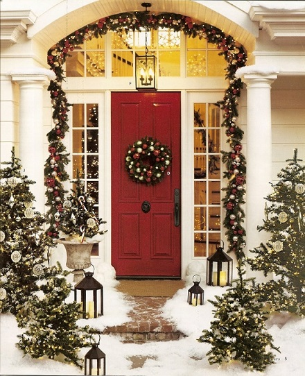 Christmas home entrance decoration 1-1