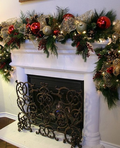 fireplace decoration