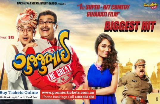 Gujjubhai The Great Gujarati movie screening in Melbourne, Sydney, Perth and Brisbane