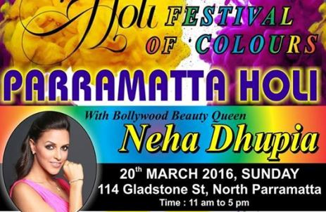 Holi Celebrations in Sydney 2016