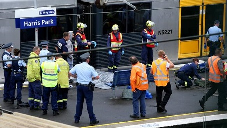 TRAGEDY AT HARRIS PARK STATION
