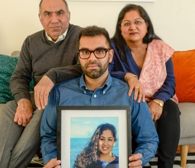nikita chawla's family