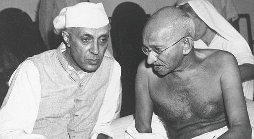 Gandhiji and nehru