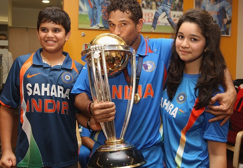 Sachin tenduldar's children