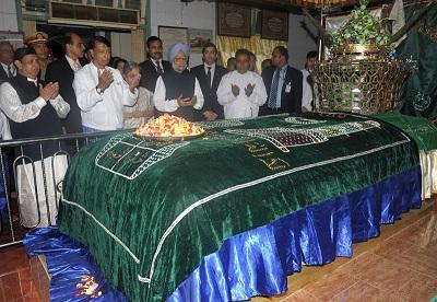 Zafar's grave