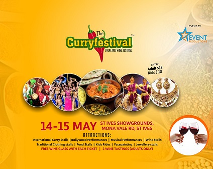 Sydney Curry Festival at St Ives Show Grounds
